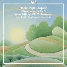 Boris Papandopulo (1906-1991): Klavierkonzert Nr.2, CD