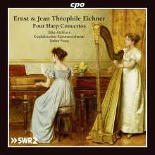 Ernst Eichner (1740-1777): Harfenkonzerte op.6 & 9, CD