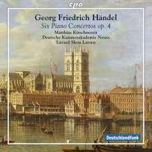 Georg Friedrich Händel (1685-1759): Klavierkonzerte Nr.1-6 (op.4 Nr.1-6), SACD