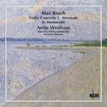 Max Bruch (1838-1920): Sämtliche Werke für Violine & Orchester Vol.2, CD