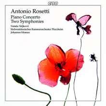 Antonio Rosetti (1750-1792): Klavierkonzert B-Dur Murray C4, CD