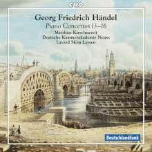 Georg Friedrich Händel (1685-1759): Klavierkonzerte Nr.13-16 (HWV 295,296,304,305a), SACD