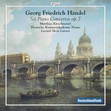 Georg Friedrich Händel (1685-1759): Klavierkonzerte Nr.7-12 (op.7 Nr.1-6 HWV 306-311), SACD