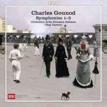 Charles Gounod (1818-1893): Symphonien Nr.1-3, CD