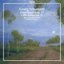 Georg Schumann (1866-1952): Klavierquartett op.29 f-moll, CD