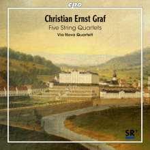 Christian Ernst Graf (1723-1804): Streichquartette op.17 Nr.1,3,4; WoO.4 & 6, CD