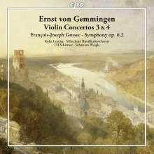 Ernst von Gemmingen (1759-1813): Violinkonzerte Nr.3  &  4, CD
