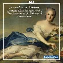 Jacques-Martin Hotteterre (1674-1763): Komplette Kammermusik Vol.2, CD