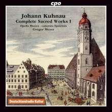 Johann Kuhnau (1660-1722): Sämtliche geistliche Werke Vol.1, CD