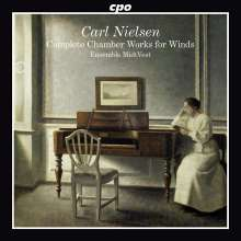 Carl Nielsen (1865-1931): Sämtliche Kammermusik für Bläser, CD