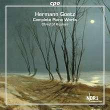 Hermann Goetz (1840-1876): Sämtliche Klavierwerke, 2 CDs