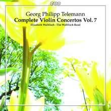 Georg Philipp Telemann (1681-1767): Sämtliche Violinkonzerte Vol.7, CD