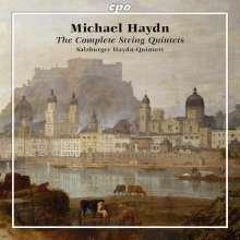 Michael Haydn (1737-1806): Sämtliche Streichquintette, 2 CDs