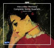 Mieczyslaw Weinberg (1919-1996): Sämtliche Streichquartette, 6 CDs