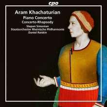 Aram Khachaturian (1903-1978): Klavierkonzert Des-Dur, CD