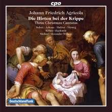 Johann Friedrich Agricola (1720-1774): Weihnachtskantaten, CD