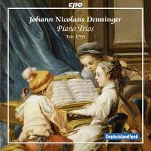 Johann Nicolaus Denninger (1743-1813): Klaviertrios op.4 Nr.1-3, CD