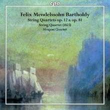Felix Mendelssohn Bartholdy (1809-1847): Streichquartette Vol.2, CD
