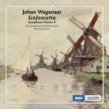 Johan Wagenaar (1862-1941): Symphonische Dichtungen Vol.2, CD