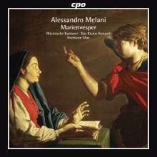 Alessandro Melani (1639-1703): Marienvesper, CD