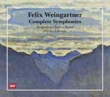 Felix Weingartner (1863-1942): Sämtliche Symphonien, 7 SACDs