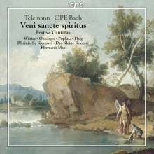 Georg Philipp Telemann (1681-1767): Kantaten (Späte Festkantaten), CD