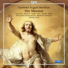 Gottfried August Homilius (1714-1785): Der Messias, 2 CDs