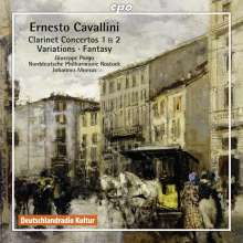 Ernesto Cavallini (1807-1874): Klarinettenkonzerte Nr.1 & 2, CD