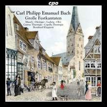 Carl Philipp Emanuel Bach (1714-1788): Große Festkantaten, CD