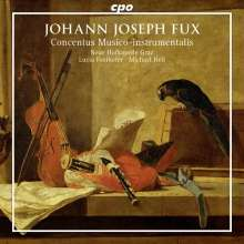 Johann Joseph Fux (1660-1741): Concentus Musico-instrumentalis I-VII, 2 CDs