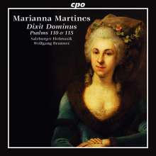 Marianna Martines (1744-1812): Psalmenkantaten, CD
