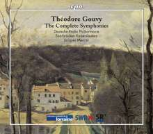 Louis Theodore Gouvy (1819-1898): Sämtliche Symphonien (Nr.1-6), 4 CDs