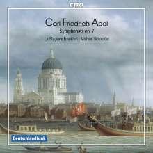 Carl Friedrich Abel (1723-1787): Symphonien op.7 Nr.1-6, CD