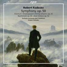 Robert Radecke (1830-1911): Symphonie F-Dur op.50, CD