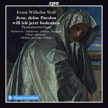 """Ernst Wilhelm Wolf (1735-1792): Passions-Oratorium """"Jesu, deine Passion will ich jetzt bedenken"""", CD"""