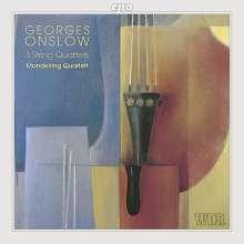 Georges Onslow (1784-1852): Streichquartette op.9,1;op.9,3;op.47, CD