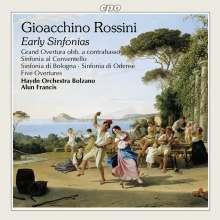 Gioacchino Rossini (1792-1868): Frühe Orchesterwerke, CD