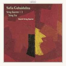 Sofia Gubaidulina (geb. 1931): Streichquartette Nr.1-3, CD