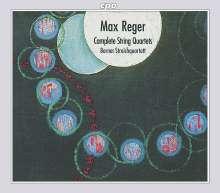 Max Reger (1873-1916): Sämtliche Streichquartette, 3 CDs