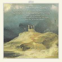 Hermann Goetz (1840-1876): Symphonie op.9, CD