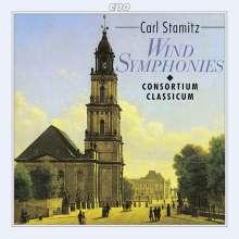Carl Stamitz (1745-1801): Bläsersymphonien, CD