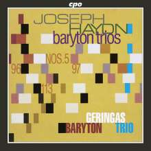 Joseph Haydn (1732-1809): Baryton-Trios H11 Nr.5,96,97,113, CD