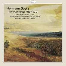Hermann Goetz (1840-1876): Klavierkonzerte Nr.1 & 2, CD