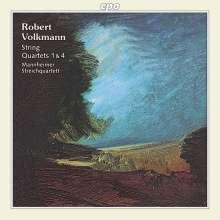 Robert Volkmann (1815-1883): Streichquartette Nr.1 & 4, CD