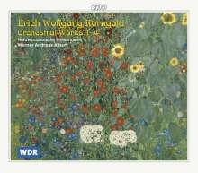 Erich Wolfgang Korngold (1897-1957): Orchesterwerke Vol.1-4, 4 CDs