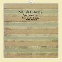 Michael Haydn (1737-1806): Symphonien Nr.4-6, CD