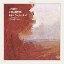 Robert Volkmann (1815-1883): Streichquartette Nr.2 & 5, CD