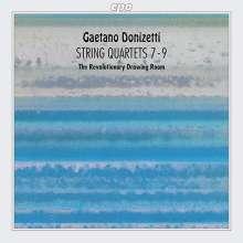 Gaetano Donizetti (1797-1848): Streichquartette Nr.7-9, CD