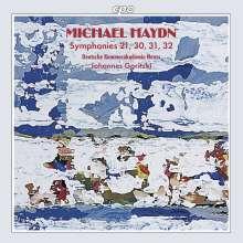 Michael Haydn (1737-1806): Symphonien Nr.21,30-32, CD