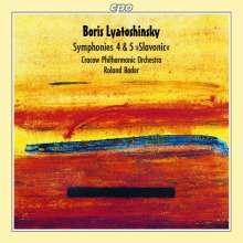 Boris Lyatoshinsky (1895-1968): Symphonien Nr.4 & 5, CD